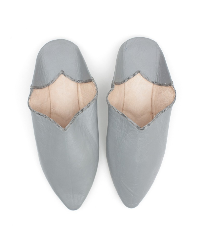 Babouche Slipper Grey