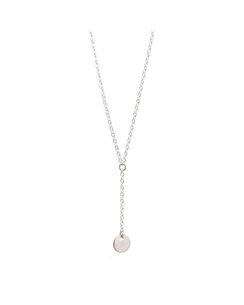 Dare To…Little T Necklace Small Circle Silver