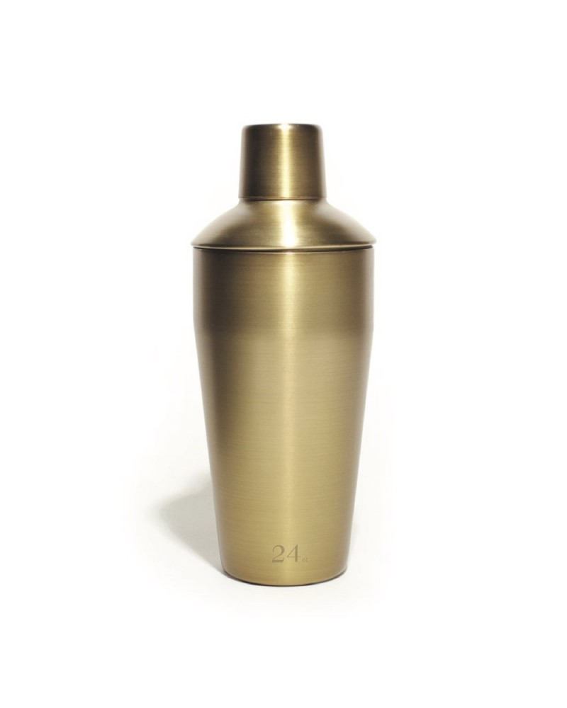 Gold 24 Oz Cocktail Shaker