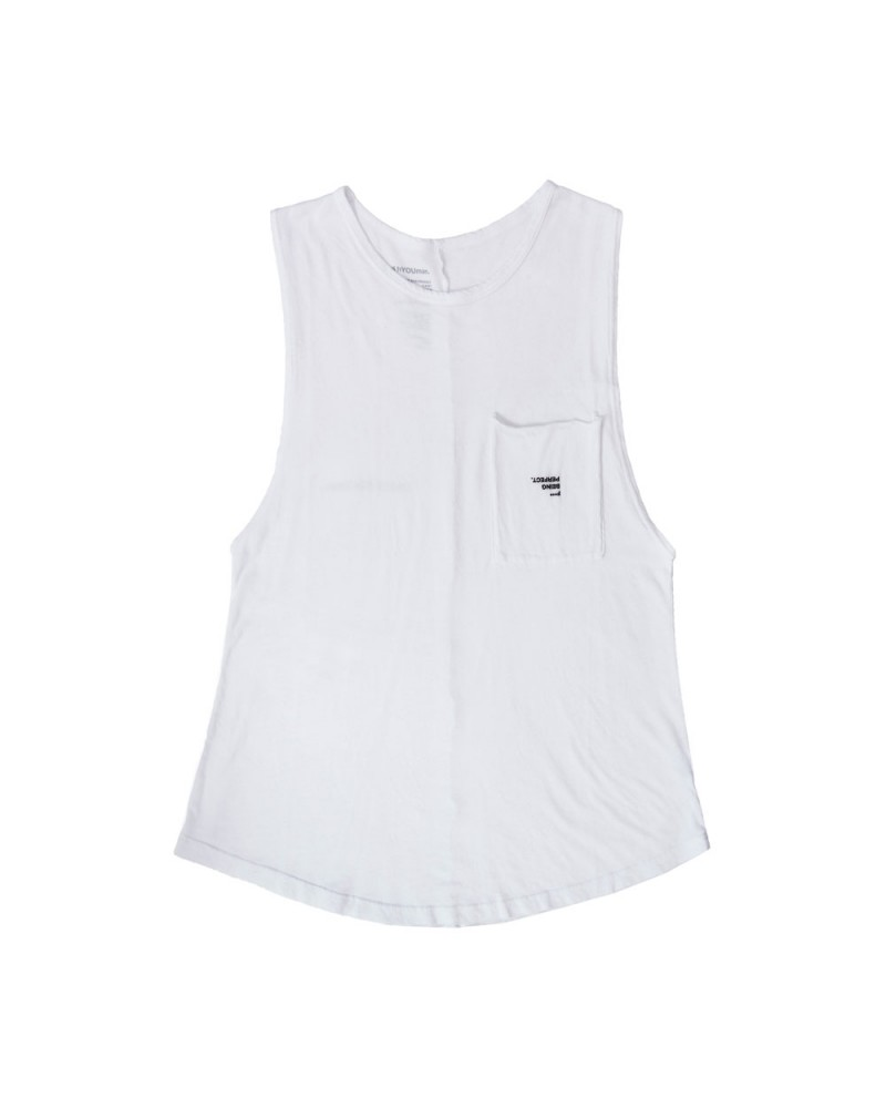 The Riley Tank F Being Perfect Optic White