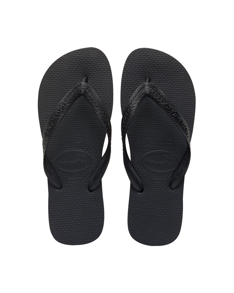 Kids Top Flip Flops Black