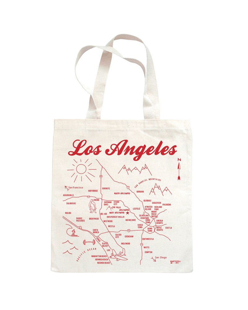 Natural Los Angeles Tote