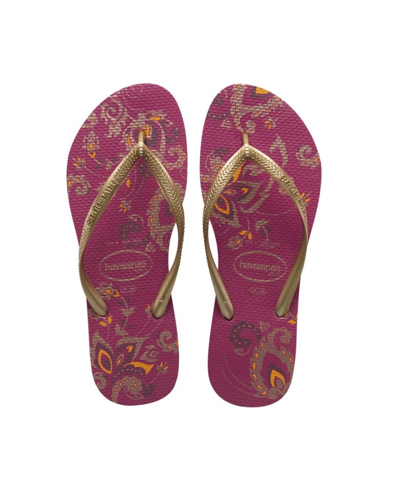 Slim Season Flip Flops Super Pink