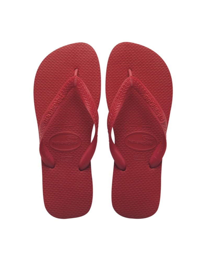 Top Flip Flops Red Ruby