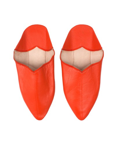 Babouche Slipper Orange
