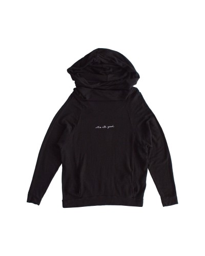 The Bailey Sweatshirt It's All Good Black Sand
