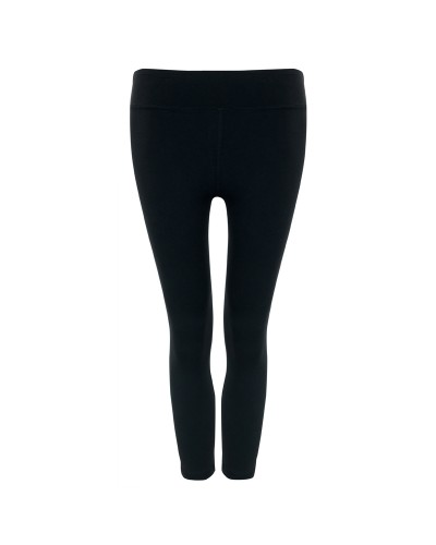 The Anderson Crop Legging Breathe Black Sand