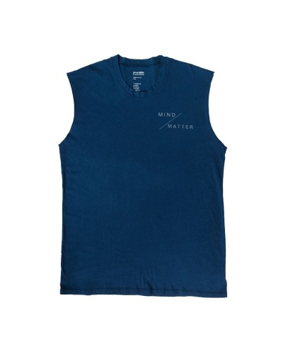 The Venice Muscle Tank Mind/Matter Navy