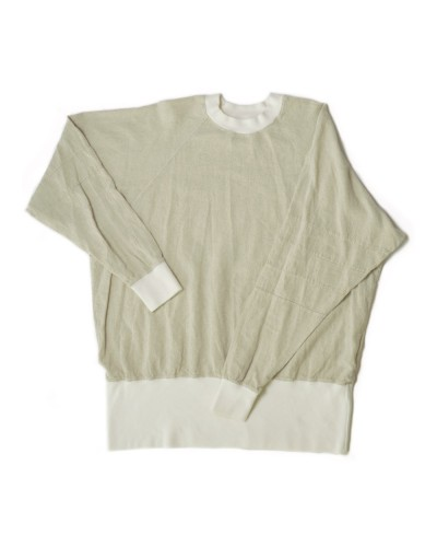 Linen Rayon Henry Sweater