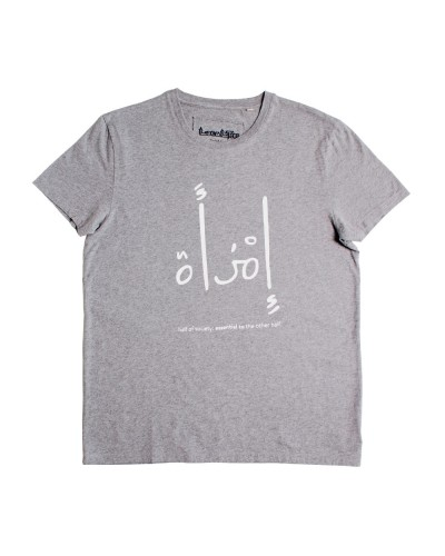 "Essential To ""Woman"" Tee Grey"