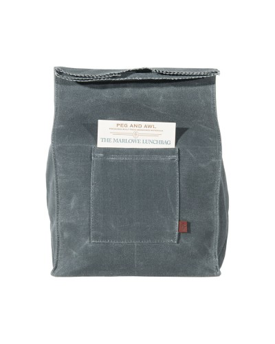 Marlowe Lunch Bag Slate
